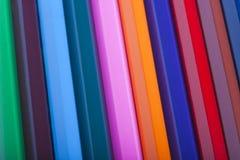 La couleur crayonne le fond Images stock