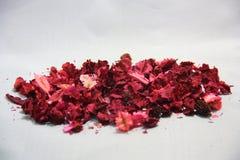 La couleur douce de fleurs sèches avec l'odeur aiment Photo libre de droits