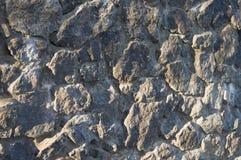 La couleur grise lapide la barrière Fond de nature Photo stock