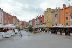 La couleur loge Rovinj Photos libres de droits