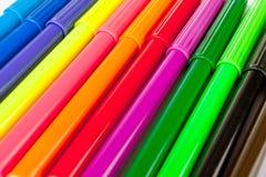 La couleur ressentir-incline le fond Images libres de droits