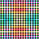 La couleur sans couture bloque le fond de modèle de grille Images stock