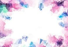 La couleur vive fleurit dans le style doux de couleur et de tache floue sur la texture de papier de mûre pour le fond romantique illustration stock