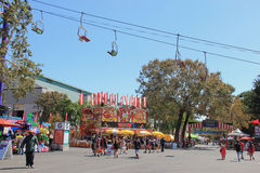 LA County Fair 2014. Pomona, California, USA - September 15, 2014: The Los Angeles County Fair is one of the fourth largest fair in the United States. It Stock Image