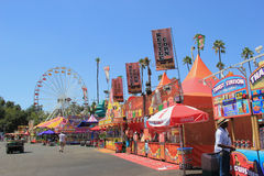 LA County Fair 2014. Pomona, California, USA - September 15, 2014: The Los Angeles County Fair is one of the fourth largest fair in the United States. It Stock Photography