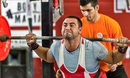 La coupe du monde 2014 powerlifting AWPC à Moscou Photo stock