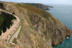 La Coupee on Sark Royalty Free Stock Image
