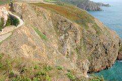 La Coupee on Sark Royalty Free Stock Photo