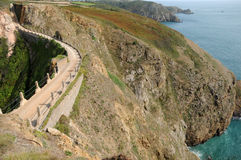 La Coupee on Sark Stock Image