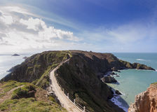 La Coupee on Sark Royalty Free Stock Photos