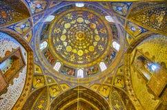 La coupole de l'église de Bethlehem à Isphahan, Iran Image libre de droits