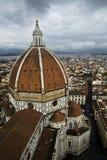 La coupole du Duomo, Florence, Italie Image stock