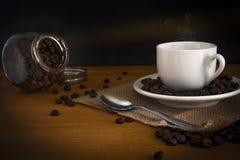 La coupure italienne, une bonne tasse de café d'expresso Photo libre de droits