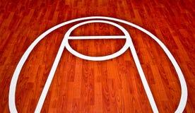 La cour de jeu de basket-ball Photo libre de droits