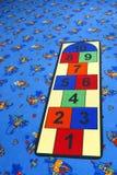 La cour de jeu des enfants Images libres de droits