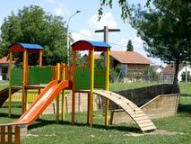La cour de jeu des enfants Photos libres de droits