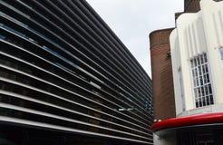 La courbe, Leicester, Angleterre Photos libres de droits