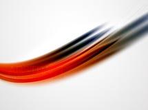 La courbe moderne barre le calibre Photos stock