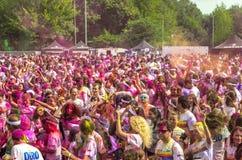 La course Bucarest de couleur Photographie stock libre de droits