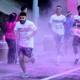La course Ventura de couleur Photo stock
