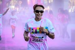 La course Ventura de couleur Photos libres de droits