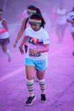 La course Ventura de couleur Image stock
