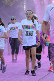La course Ventura de couleur Photos stock