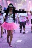 La course Ventura de couleur Image libre de droits