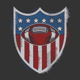 La court suprême des États-Unis à Washington, C S Un insigne de sport avec l'effet de cru illustration libre de droits