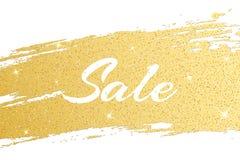La couverture de luxe à vendre de ligne grunge d'or d'or scintille Tache d'or Calomnie brillante Fond de luxe pour votre projet V Image stock