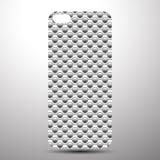La couverture de Smartphone de retour wallpaper Photos stock