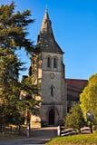 LA COVATA DI COLEMAN, SUSSEX/UK - 8 OTTOBRE: Vista della chiesa alla C fotografie stock