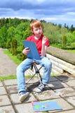 La créativité des enfants Image libre de droits