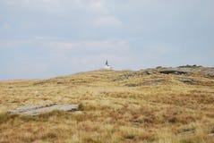La crête de Kajmakchalan, endroit d'une bataille de WWI Photographie stock libre de droits