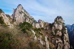 La crête de Shixin et crête de stalagmite Photographie stock libre de droits