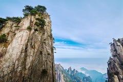 La crête et les collines de Shixin Images stock