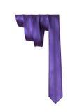 La cravate des hommes sur un fond blanc Image stock