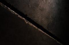 La crepa infinita Fotografia Stock