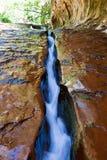 La crepa - parco nazionale di Zion Immagine Stock