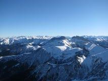 La cresta caucasica principale Immagine Stock Libera da Diritti