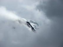 La cresta della montagna. Immagini Stock Libere da Diritti