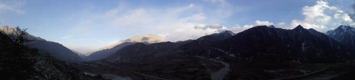 La cresta della montagna Fotografia Stock Libera da Diritti