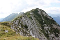 La cresta septentrional foto de archivo