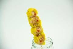 La crevette chinoise a coulé la boulette photo libre de droits
