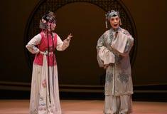 """La criada dijo a viejo """"the de la señora-Kunqu ópera el  del oeste de Chamber†imagen de archivo"""