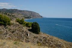 La Crimée, côte du sud de la Crimée Photo libre de droits