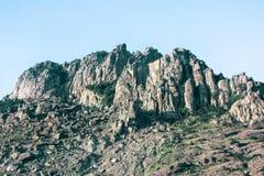 La Crimée - roches Photos stock