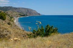 La Crimea, costa del sud della Crimea Immagine Stock Libera da Diritti