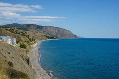 La Crimea, costa del sud della Crimea Fotografie Stock Libere da Diritti