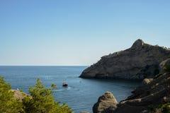La Crimea, costa del sud della Crimea Fotografia Stock Libera da Diritti